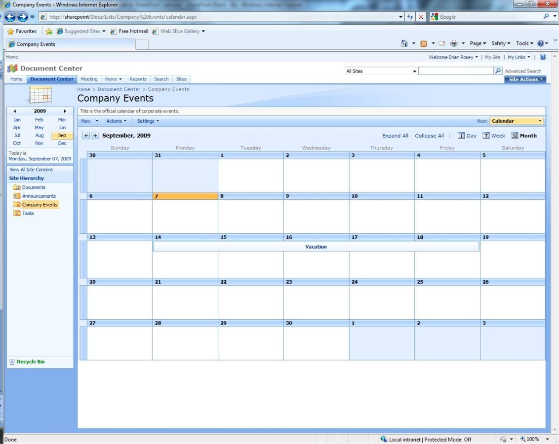 Microsoft Outlook and SharePoint calendar dos and don'ts