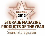 Bronze winner Storage 2012 Products of the Year