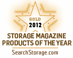Gold winner Storage 2012 Products of the Year