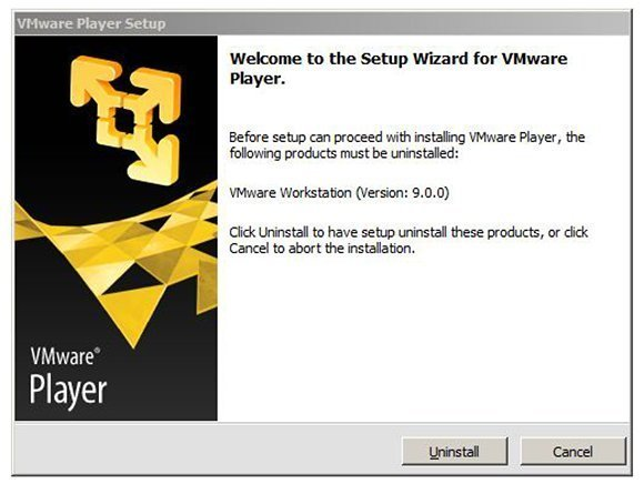 VMware Player 5 won't coexist with Workstation
