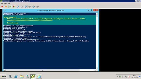 Windows PowerShell administrator