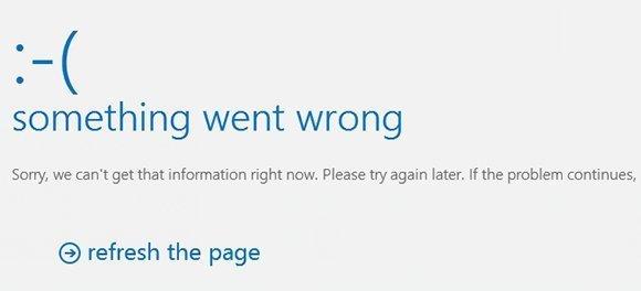 Exchange error message