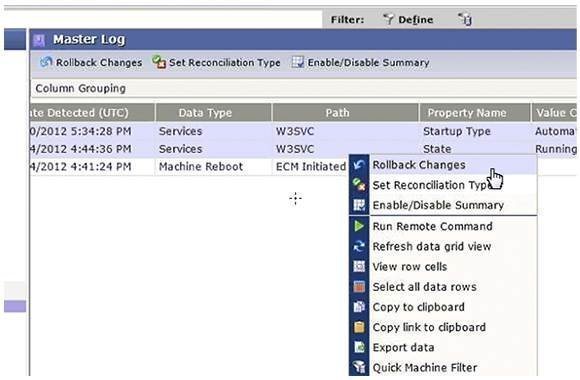 VMware Configuration Manager in vCenter Ops