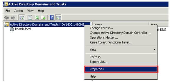 Select Properties in Active Directory