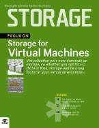 Storage for virtual machines ebook cover