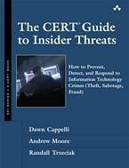 CERT Guide insider threat book cover