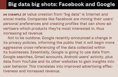 Big data bigshots