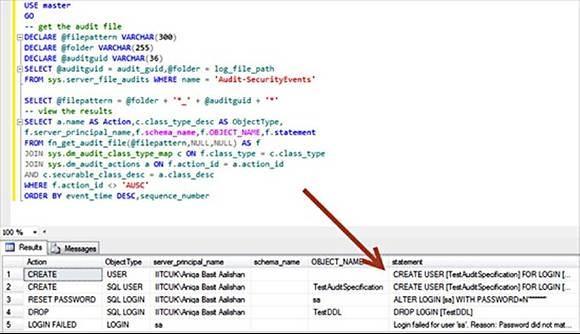 SQL Server Security Audit Code 3