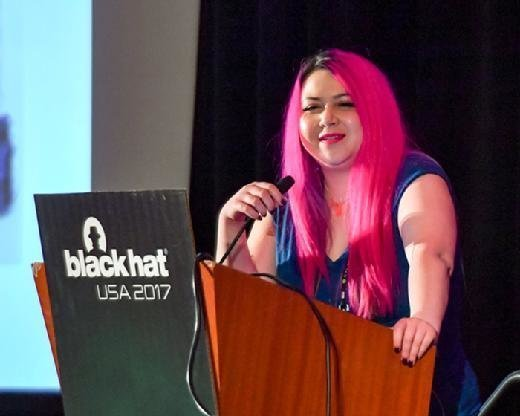 Katie Moussouris at Black Hat USA 2017