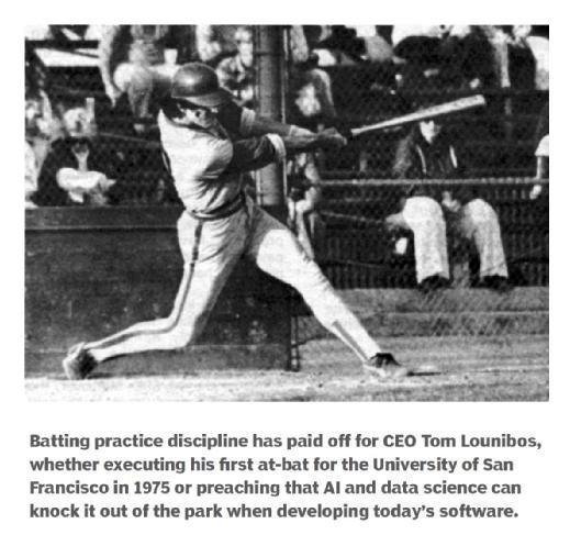 First college at-bat for Tom Lounibos