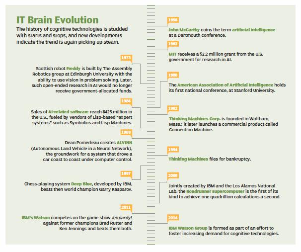 IT brain evolution