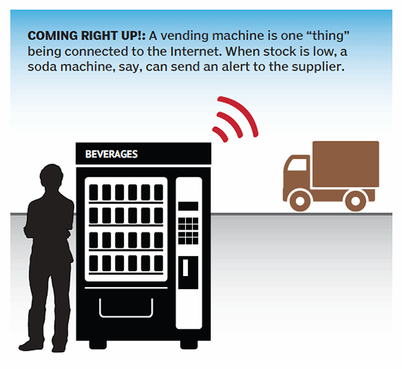 Vending Machine - Internet of Things