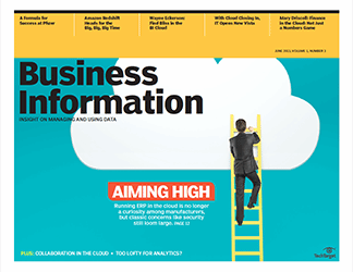 ERP, business intelligence heads to the cloud