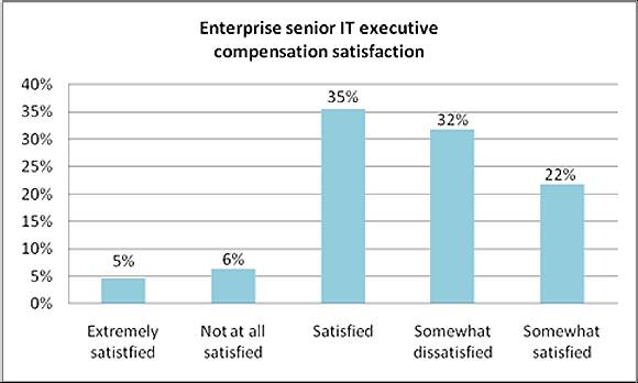 Enterprise senior IT executive compensation satisfaction