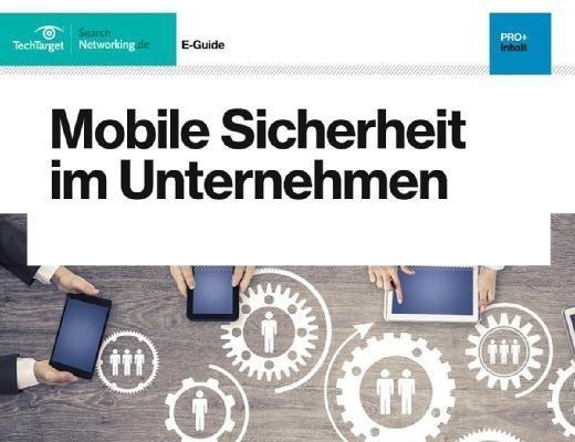 Mobile Sicherheit im Unternehmen auf über 20 Seiten.