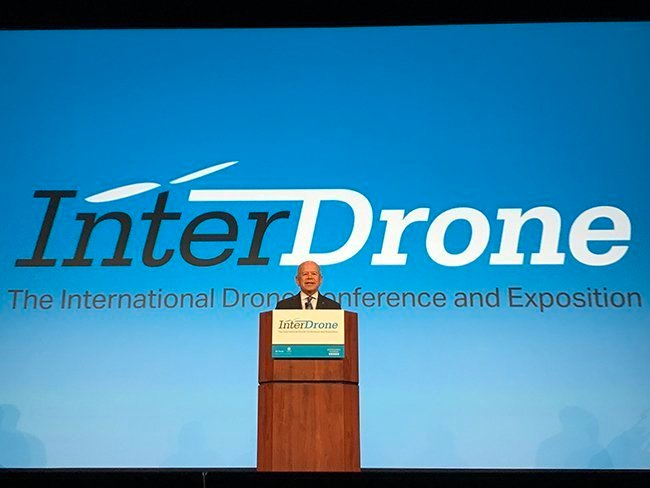 michael huerta, the faa, drone industry, interdrone