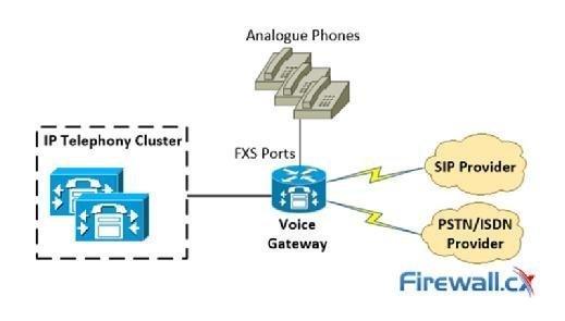 Voice gateways connectivity options