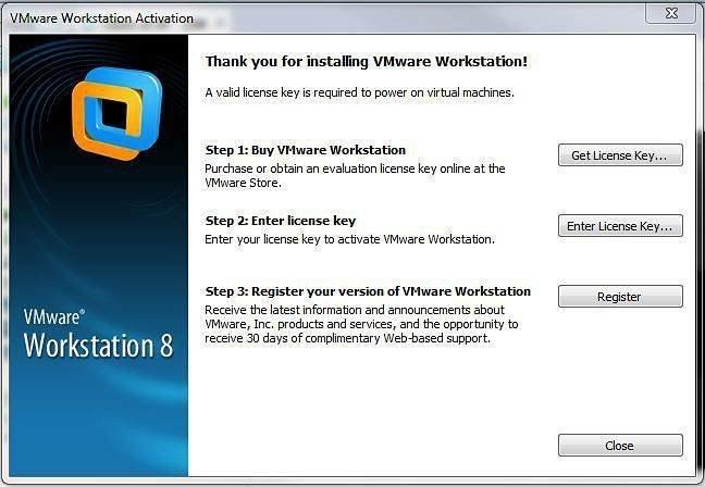 Buy VMware Workstation 8 key
