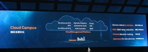 Mit Huawei Cloud Campus sollen Services in Minuten verfügbar sein.