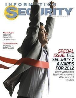 Seven Outstanding Security Pros in 2012