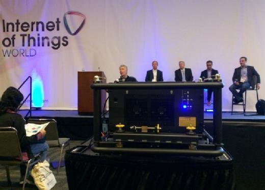 IoT World 2015 panel on smart cities and IoT systems