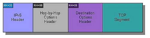 IPv6 header chain
