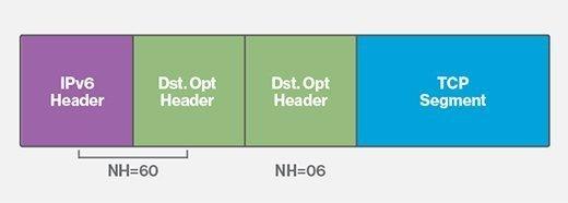 IPv6 packet, IPv6 extension headers