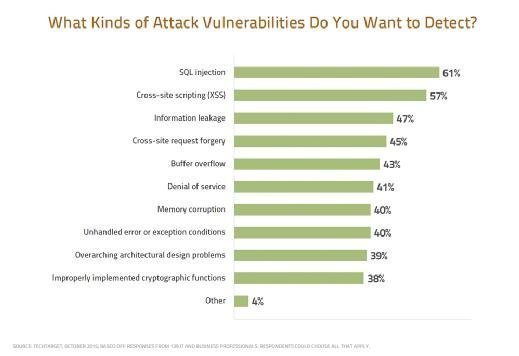 What Kinds of Attack Vulnerabilities Do You Want to Detect?
