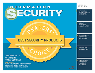 Security Readers' Choice Awards 2013