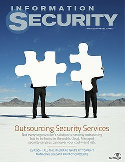 Outsourcing security services