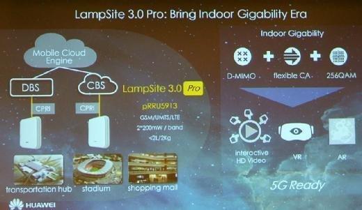 LampSite 3.0 Pro ist für größere Installationen wie Stadien und Einkaufszentren gedacht.