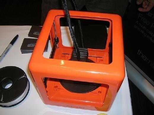 M3D Micro 3-D printer.