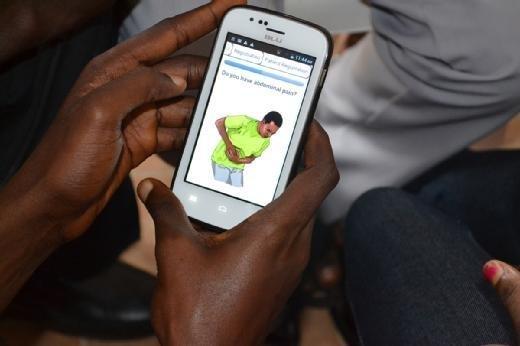 Ebola screening app