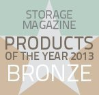 Storage Products of the Year 2013 bronze winner