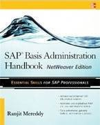 SAP Basis Administration Handbook cover