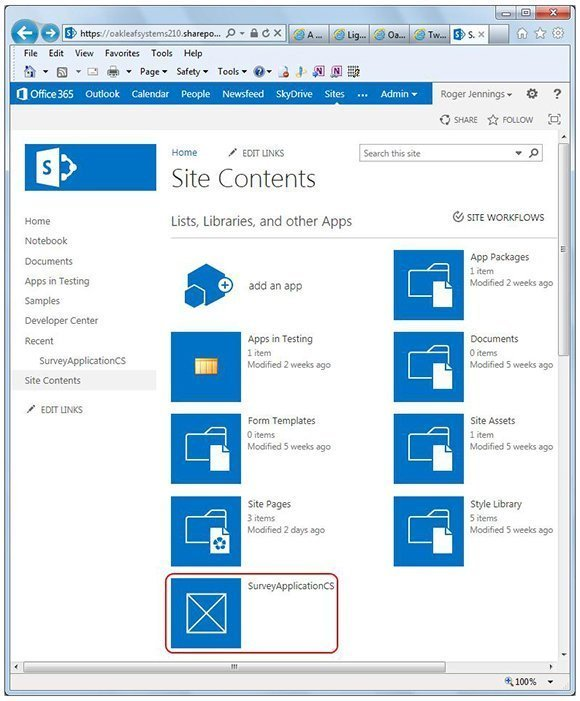 SharePoint Online, LightSwitch