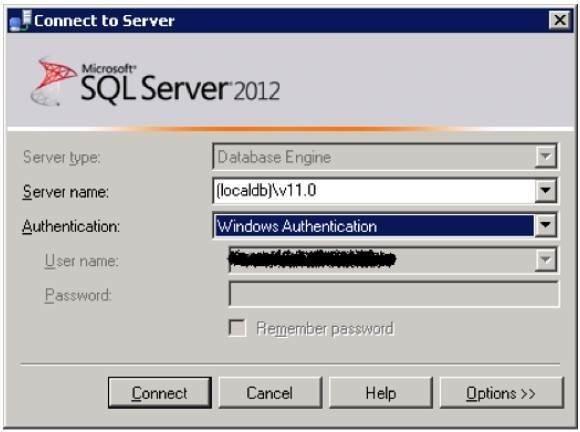 SQL Server LocalDB 6