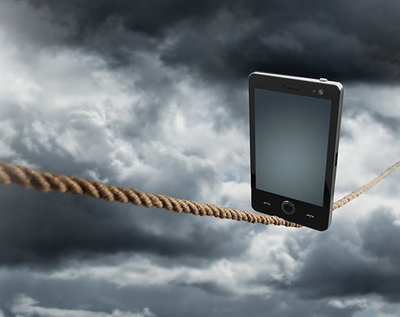 Mobile devices walk the enterprise security tightrope