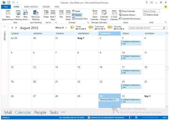 how to delete calendar items in outlook web access