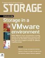 managing storage in a vmware environment
