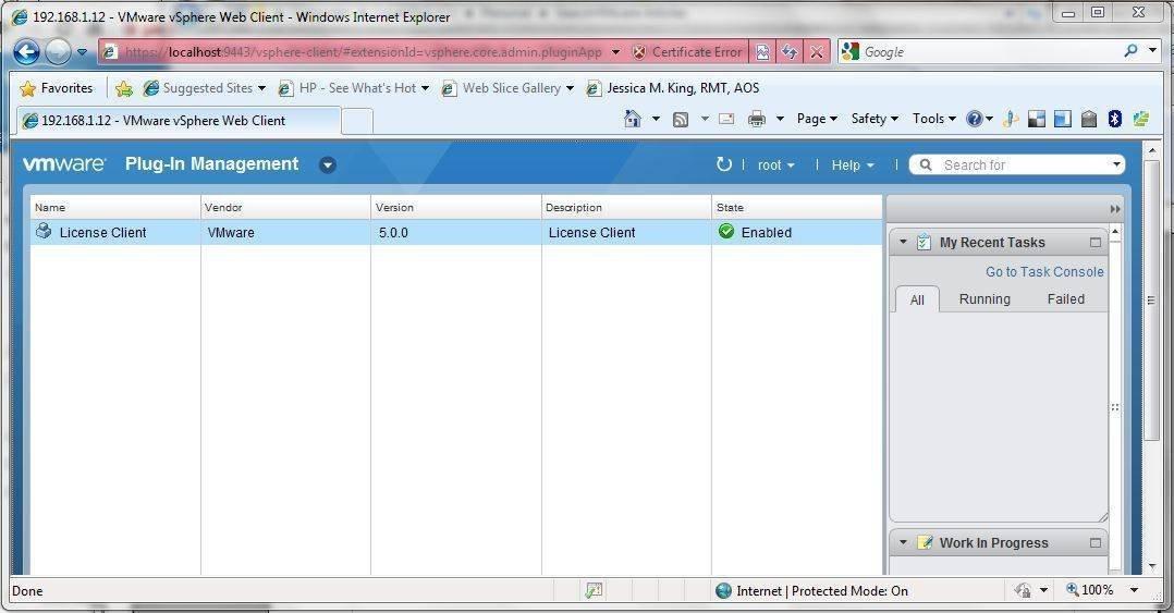 vSphere Web Client Fig. 8