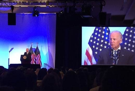 Vice President Joe Biden shares his own personal data blocking story at Health Datapalooza 2016