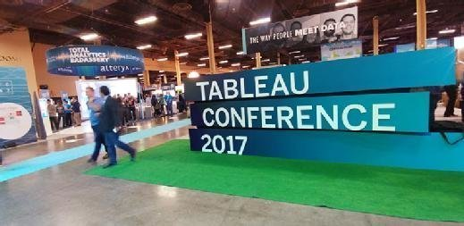 Attendees at Tableau Conference 2017