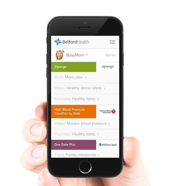 CaféWell mobile app