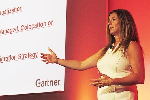 Analyst Mindy Cancila at the Gartner Catalyst Conference.