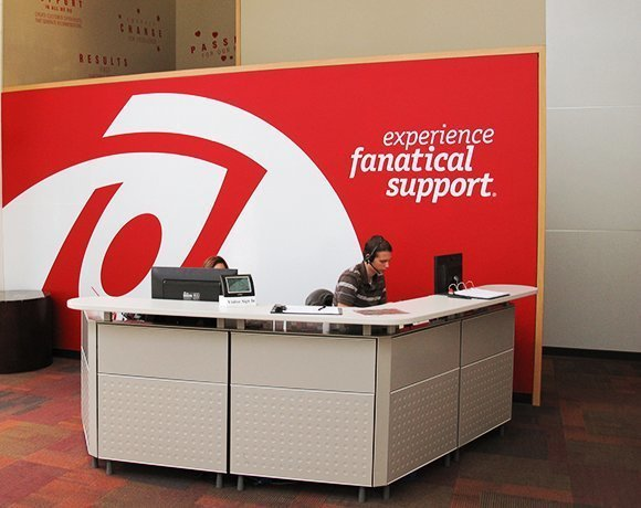 Rackspace cloud front desk