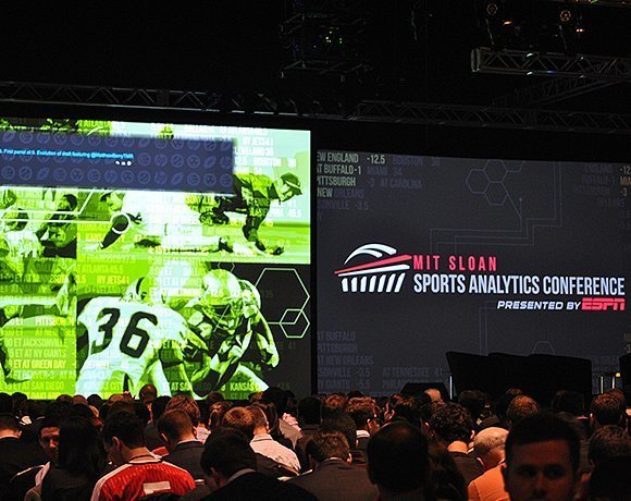 The MIT Sloan Sports Analytics Conference drew 2,700 data analytics-driven attendees to Boston this year.