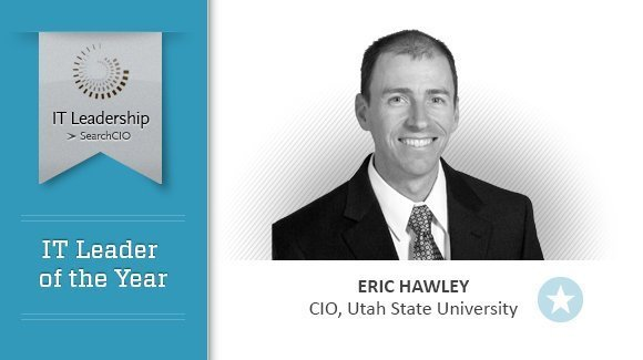 Leader of the Year Eric Hawley