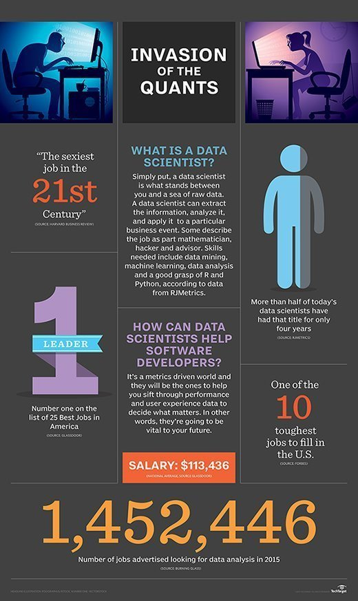 Infographic: What is a data scientist?