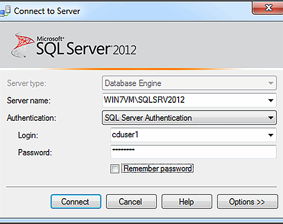 SQL Server contained database logon